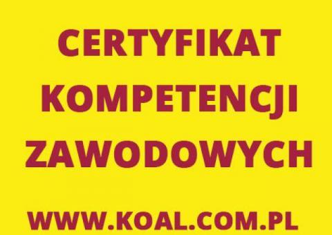 Kurs Katowice Certyfikat Kompetencji Zawodowych - CPC