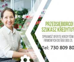 Kredyt i Leasing dla Firm do 550 000 zł, na prostych zasadach